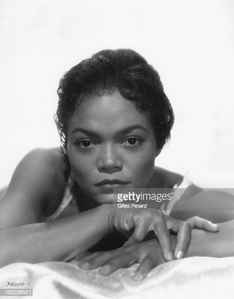 Eartha Kitt poses for a studio portrait in 1957 in the United States