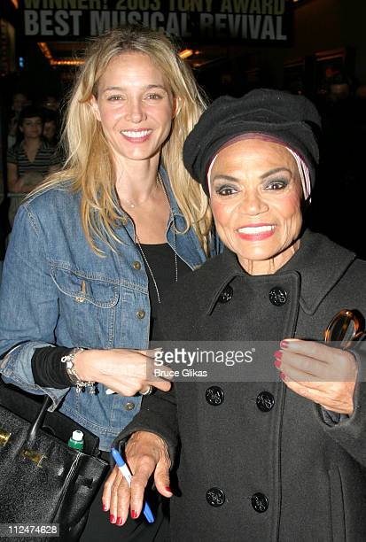 Eartha Kitt with her daughter Kitt Shapiro