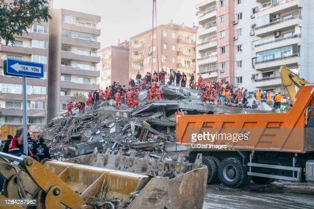 earthquake 2020 in izmir, turkey. - izmir stock pictures, royalty-free photos & images