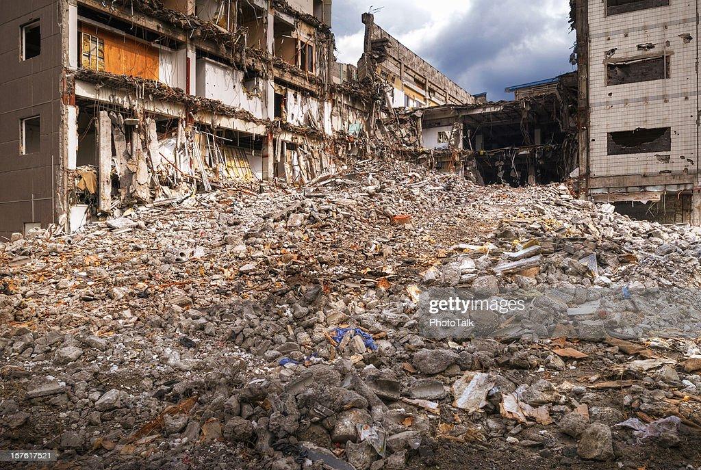 Earthquake Disaster - XLarge : Stock Photo