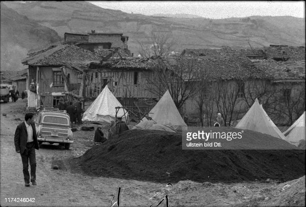 Earthquake in Gediz and Emet Turkey 1970
