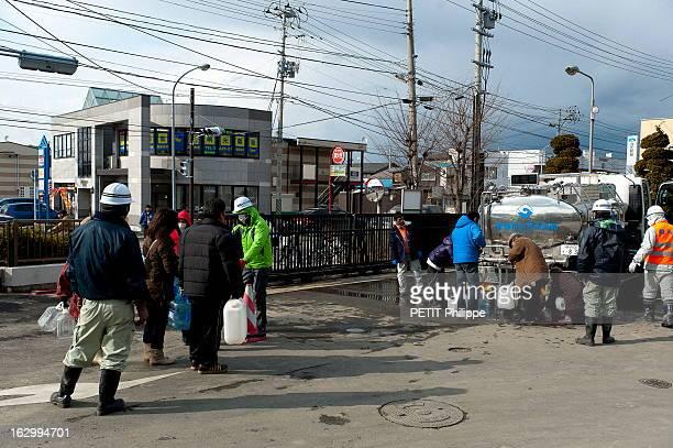 The Martyr City Of Ishinomaki Destroyed By The Tsunami Le 11 mars 2011 un tsunami provoqué par un séisme sousmarin a dévasté le nordest du Japon Le...