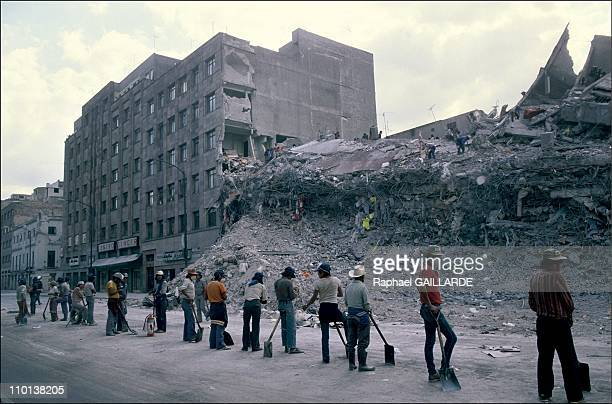 Earthquake in Mexico Baby survivors in September1985