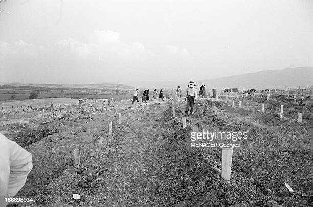 Earthquake In Skopje, Yugoslavia. République de Macédoine, Skopje, 31 juillet 1963, la capitale est en grande partie détruite par un séisme de...
