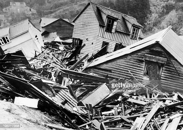 Earthquake In Valdivia In Chile In 1960
