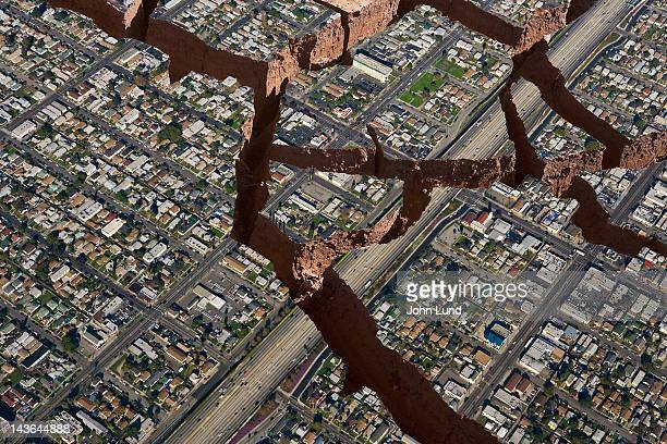 earthquake! - earthquake stock pictures, royalty-free photos & images