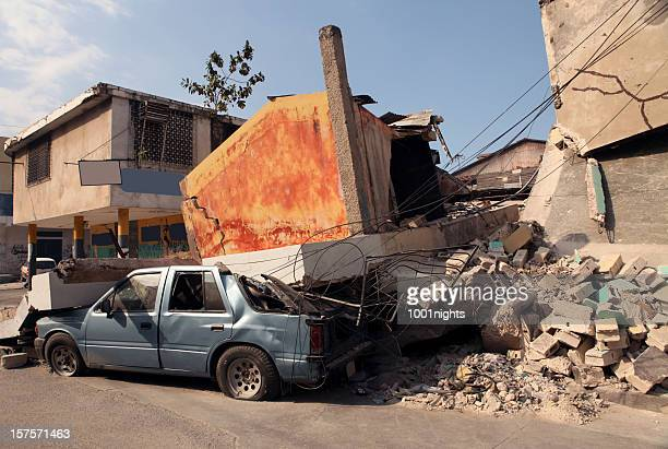 earthquake - port au prince stock pictures, royalty-free photos & images