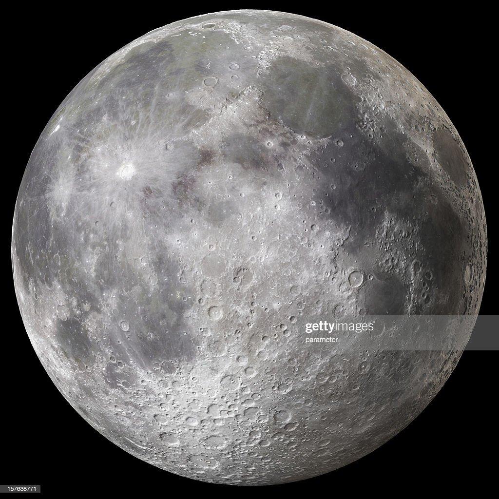 Earth's Full Moon v3 : Stock Photo