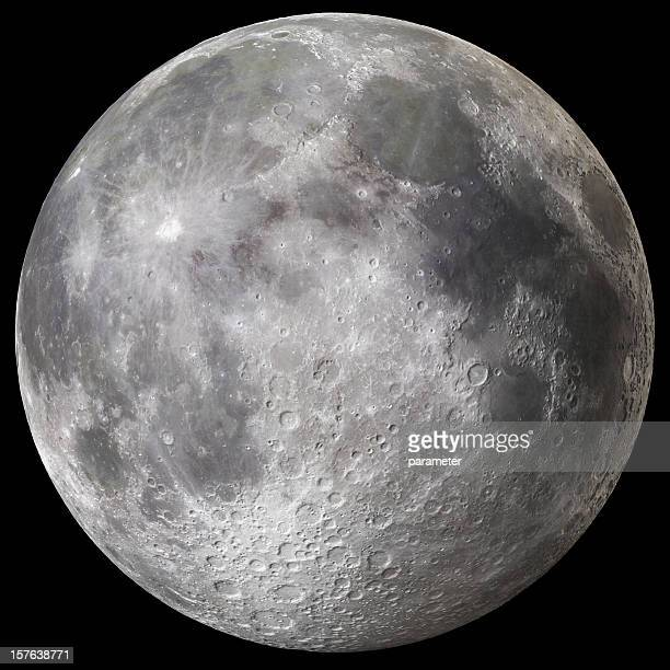 earth's full moon v3 - moon stock pictures, royalty-free photos & images