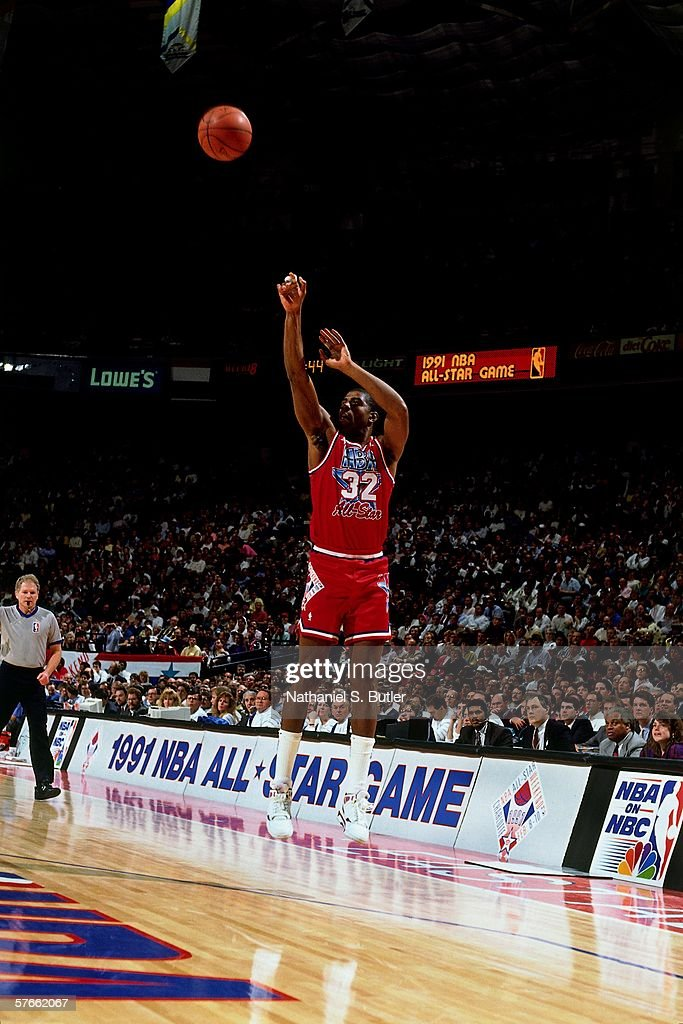 1991 All Star Game : News Photo