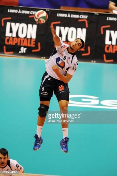 Earvin NGAPETH Tours / Poitiers 1/2 finale Coupe de France Palais des Sports Gerland Lyon