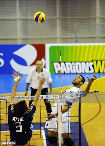 Earvin NGAPETH Paris Volley / Tours 8e journee LigueA