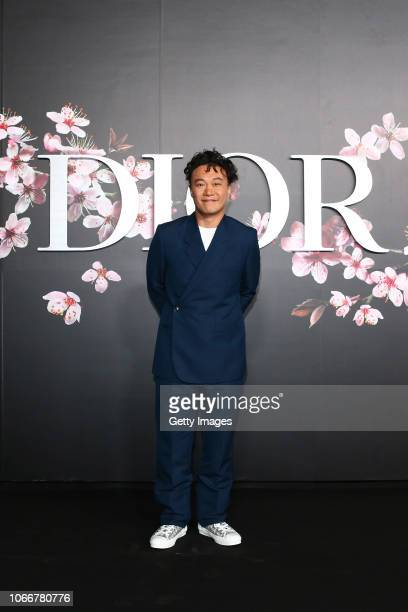 Eason Chan attends the photocall at the Dior Pre Fall 2019 Men's Collection on November 30 2018 in Tokyo Japan