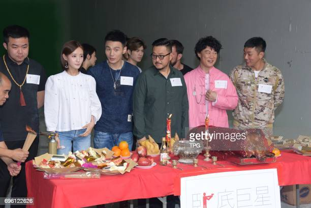 Eason Chan promotes for his new movie Keep Calm and Be A Superstar on 14th June 2017 in Hongkong China