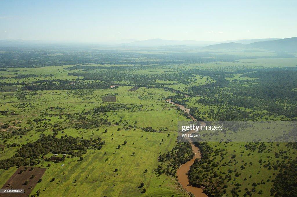 East Africa landscape : Stock Photo
