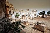 East Basilica of the Church of Saint Simeon, Syria.