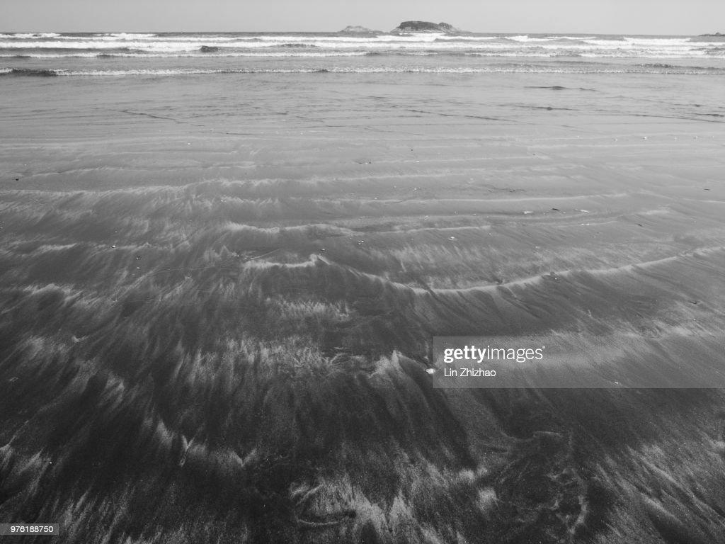 East Bay Beach of Twin-moon Bay : Stock Photo