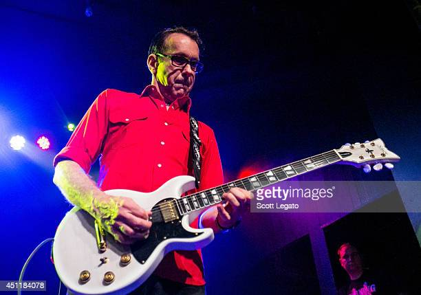 East Bay Ray of the Dead Kennedys performs at St Andrews Hall on June 24 2014 in Detroit Michigan