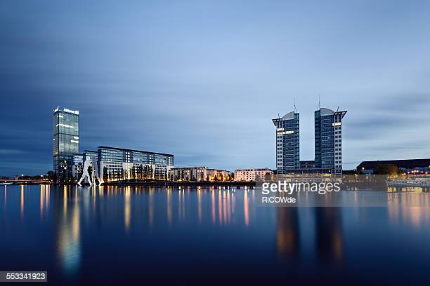 East Berlin cityscape