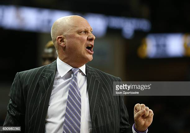 East Carolina Pirates head coach Jeff Lebo is upset with a call during the mens basketball game between the UCF Knights and the East Carolina Pirates...