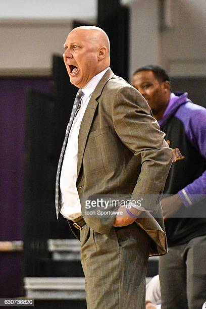 East Carolina Pirates head coach Jeff Lebo questions a call in an American Conference regular season game between the Southern Methodist Mustangs and...