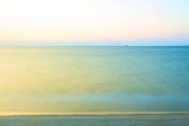 East China sea at evening
