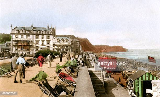 East Cliff Promenade, Teignmouth, Devon, early 20th century.