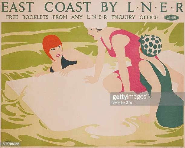 East Coast by LNER Poster by Tom Purvis