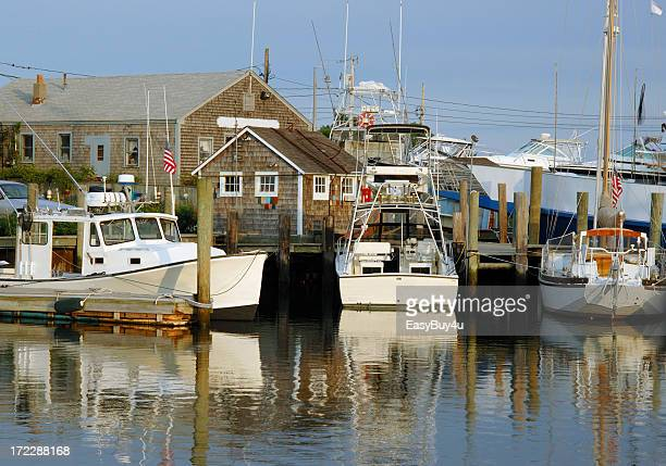 east coast marina - hyannis port stock pictures, royalty-free photos & images