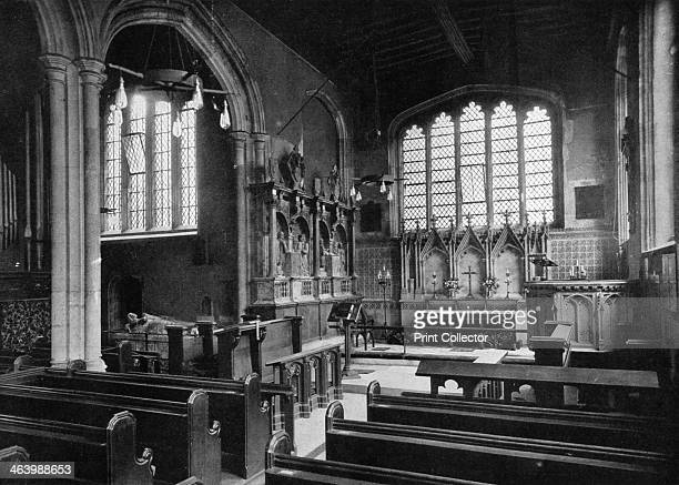 East end of the Chapel of St Peter ad Vincula Tower of London 20th century A print from Tower of London printed and published by Gale and Polden Ltd...