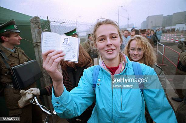 East German Holding Passport