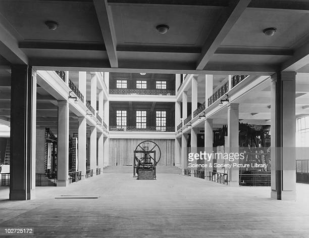 East Hall of the Science Museum South Kensington London 1924 Looking NorthWest gallery Science Museum May 1924