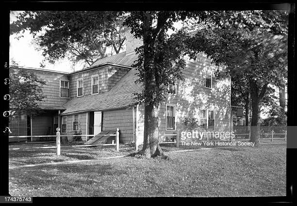 East Hampton, Long Island: rear view of Charles Edwards House, east side Main Street, New York, New York, early to mid 1920s.