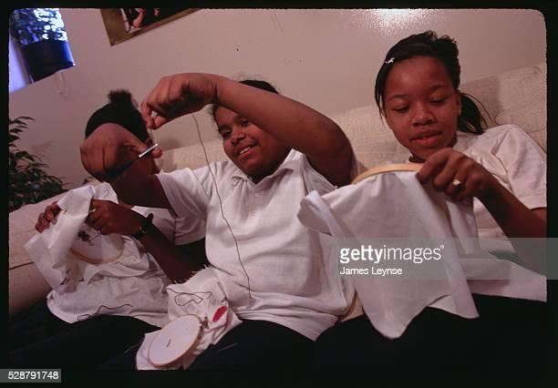 East Harlem, New York: Young Women's School Of East Harlem. This all girl's school offers a 7th grade humanities class.
