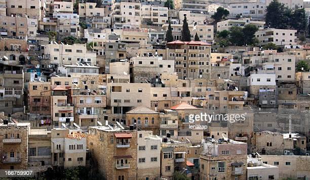 jerusalém oriental, vilarejo árabe silwan - cultura palestina - fotografias e filmes do acervo