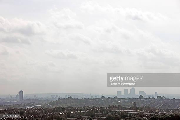 East London and Canary wharf