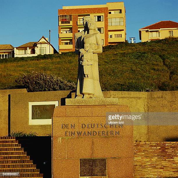 East London: Denkmal für die deutschenEinwanderer- o.J.