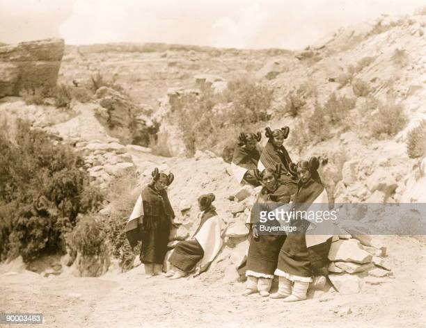 East Mesa girls--Hopi