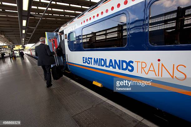 East Midlands Trains services at St Pancras station