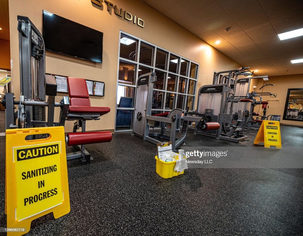 A Gym on Long Island Prepares to Reopen After the Coronavirus Shutdown : News Photo