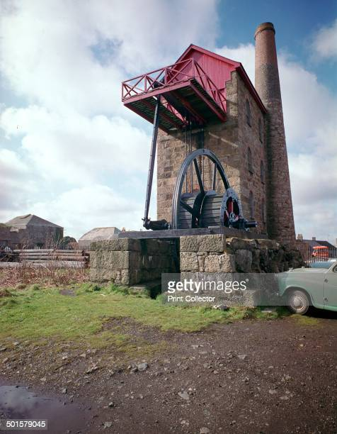 East Pool Whim Engine House a 30 inch rotative beam engine for a tin mine 19th century