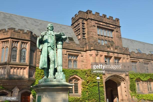 east pyne ホールにプリンストン大学 - プリンストン大学 ストックフォトと画像