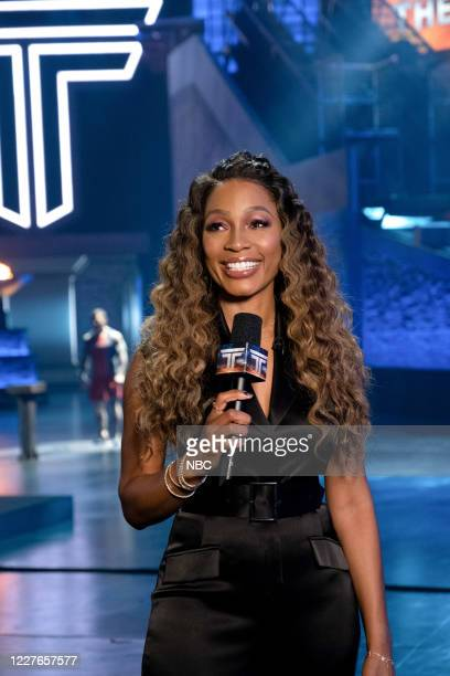 """East Region Premiere: UFC Champ Tyron Woodley and Gold Medalist Hannah Teter"""" Episode 209 -- Pictured: Cari Champion --"""