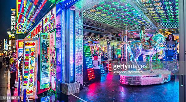 East Shinjuku, Kabukicho, the Robot Restaurant, specialized in performance of 3.6 metre-high female robots