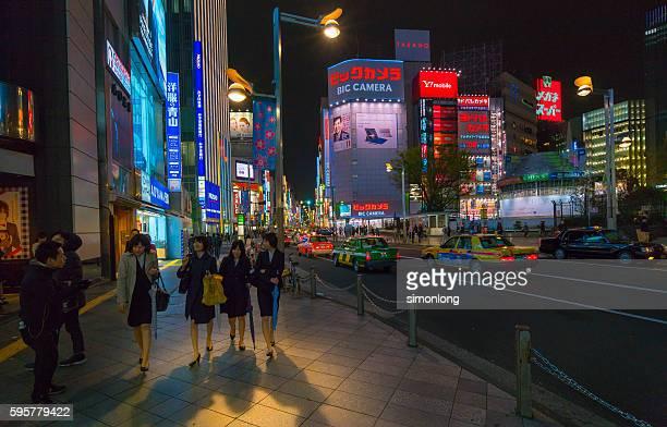East Shinjuku,Tokyo,Japan