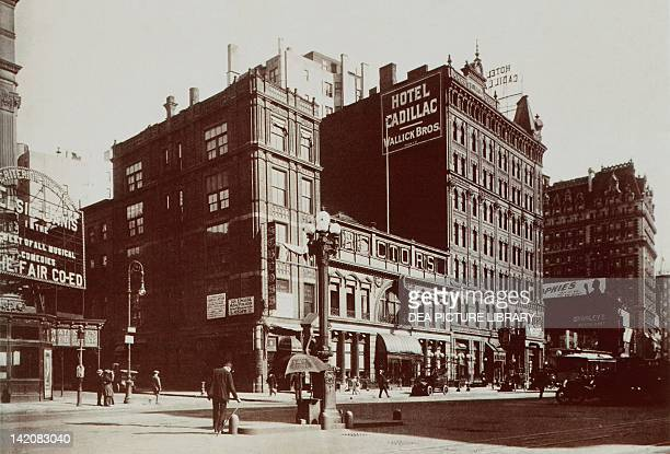East Side Broadway south from West 44th Street New York City United States of America 20th century