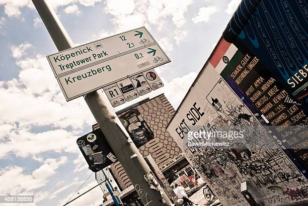 east side gallery - east stock photos and pictures