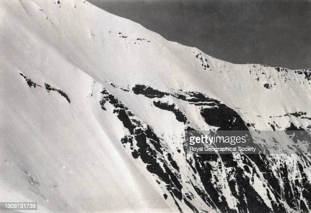 East side of Changtse, seen from North Col. By George Leigh Mallory. Mount Everest Expedition 1921.