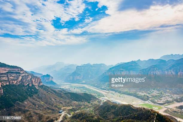 east taihang scenic area, china - 太行山脈 ストックフォトと画像