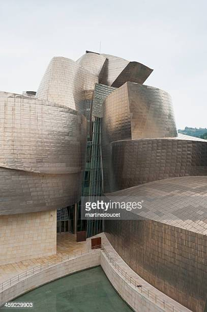 """east view of the guggenheim museum, bilbao, spain. - """"martine doucet"""" or martinedoucet stock pictures, royalty-free photos & images"""